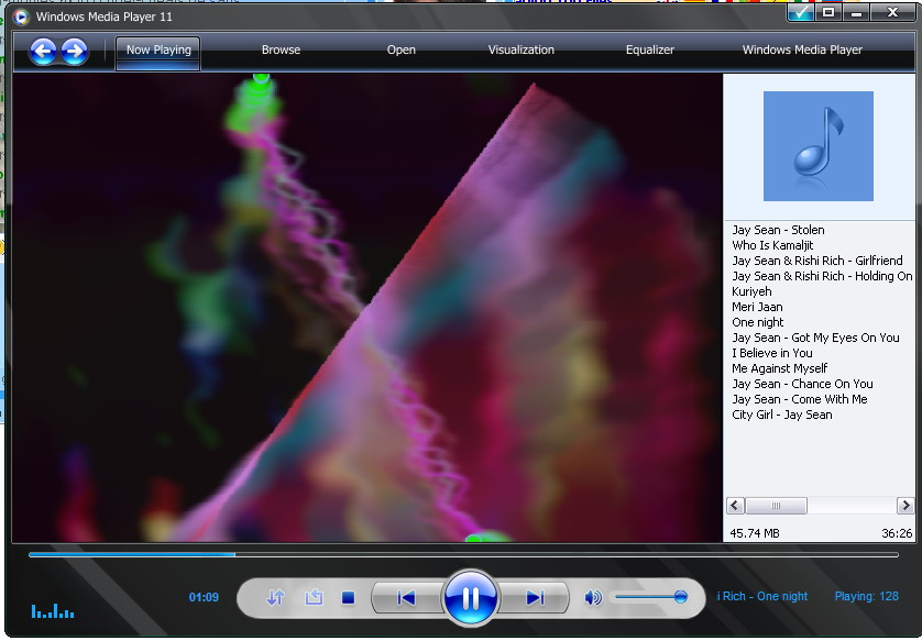 Movie trailers using windows media player